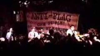 anti-flag - new kind of army - live @ the wetlands 12.7.2000