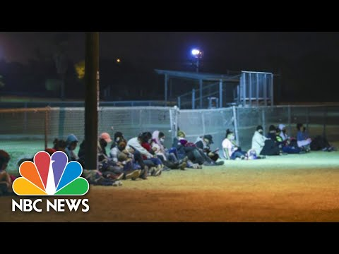 Here's What Happens To Migrant Families After They're 'Released' Into The U.S. | NBC News NOW