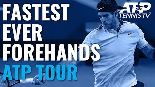 Fastest EVER ATP Forehands ⚡️