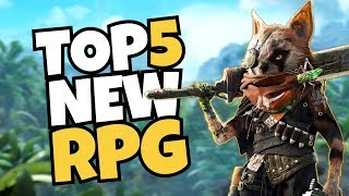 TOP 5 NEW RPGs Coming In 2018!
