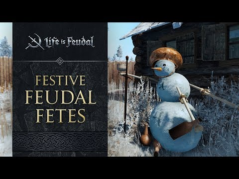 Festive Feudal Fetes Include Building Snowmen & More