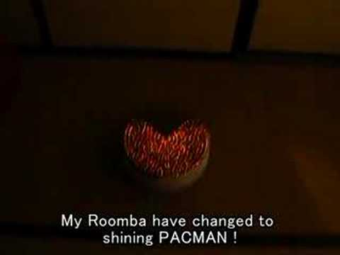 Roomba Modded Into Pac-Man Awesome