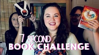 The 7 Second Book Challenge Ft. Jennaclarek & Meagan Precourt