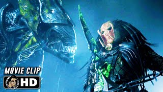 AVP: ALIEN VS. PREDATOR Clip - Xenomorph Queen vs. Predator (2004) by JoBlo HD Trailers