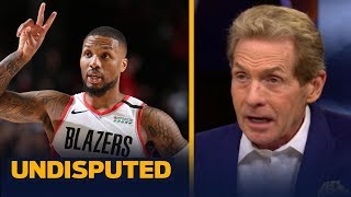 Trail Blazers are the most dangerous 8th seed to threaten LeBron's Lakers — Skip | NBA | UNDISPUTED