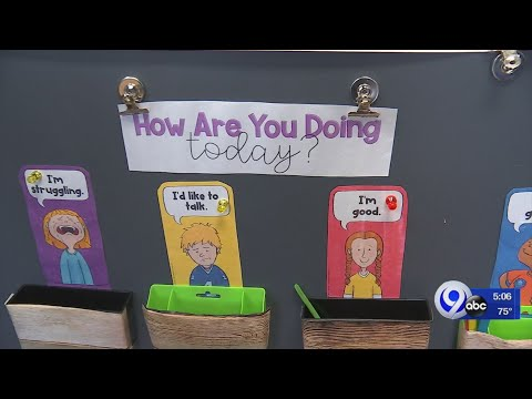 Van Duyn Elementary teacher uses self check-in system to address mental health needs