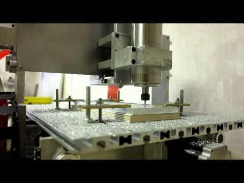 Раскрой алюминия на cnc3040al2