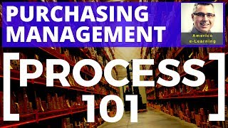 Lesson 5 - Purchasing management - Process 101 - Purchasing process lesson workflow in Supply Chain