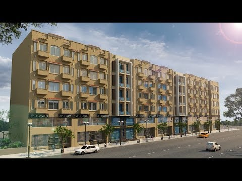 Bahria Town Lahore JP Towers Shops, Offices & Aapartments on 2 Years Payment Plan
