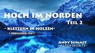 preview picture of video 'Hoch im Norden : Klettern in Holzen (südlicher Ith) Teil 2'