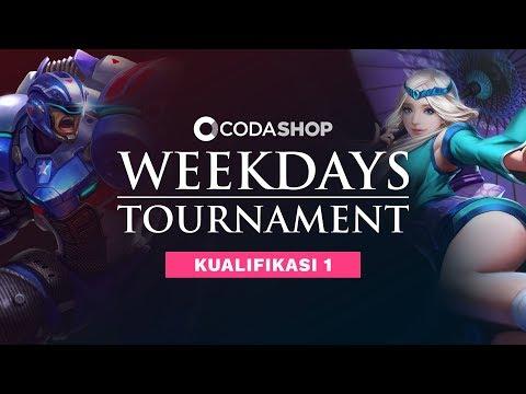 CODASHOP Weekdays Tournament by RevivaLTV - Kualifikasi 1 - Day 4