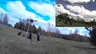 FPV 2 quads and a hexacopter