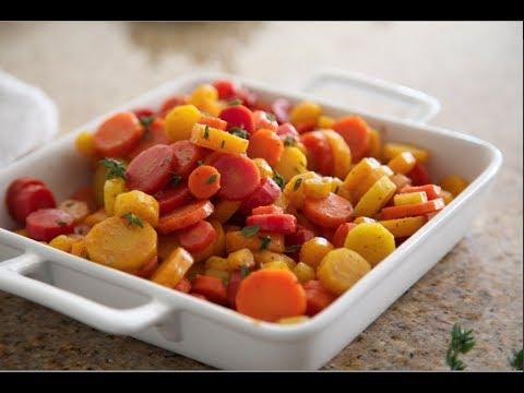 Sugar Spiced Carrots | Byron Talbott