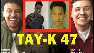 TAY K X THE RACE #FREETAYK   REACTION