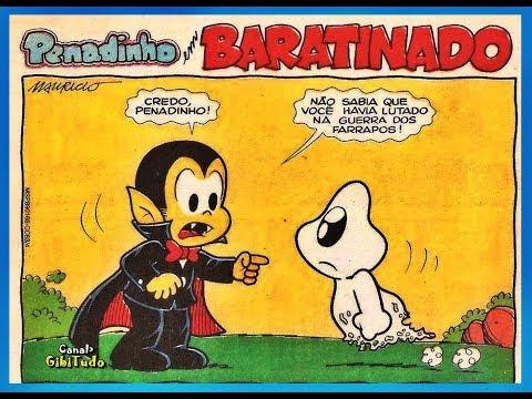 Penadinho - Baratinado, HQ Turma da Mônica