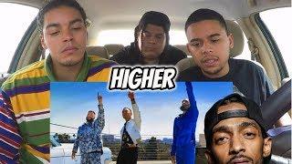 Nipsey Tribute | DJ Khaled X John Legend  Higher [REACTION REVIEW]