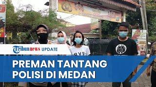 Viral Video Preman di Medan Peras Pedagang dan Malah Tantang Polisi, Kini Berujung Diciduk