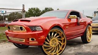 BUICK Donk on 32's   FLORIDA CLASSIC Riding Big Car Show