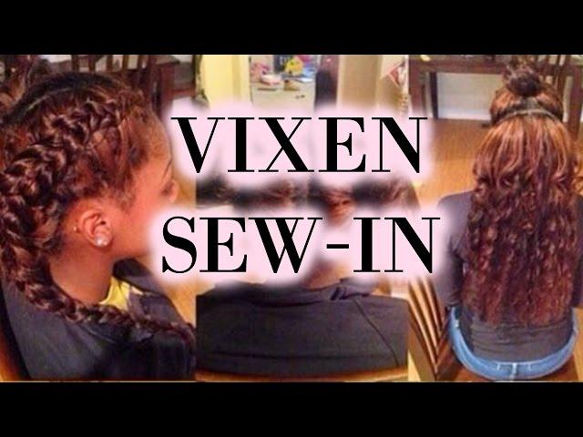 Vixen Sew In Tutorial W sew in tutorial vixen braid pattern# MP3 ...