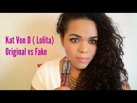 KAT VON D ( LOLITA) ORIGINAL vs FAKE