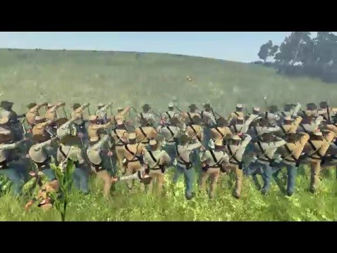 Battle of Antietam (The Sunken Road) - September 17, 1862