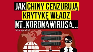 SZTUCZNA INTELIGENCJA WAZNE: Chiny cenzurują kombinacje słów: epidemia, Wuhan, wirus Serwis Technologiczny