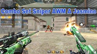 CF Legends : Combo Set Sniper AWM A Jasmine Gặp TMP Tàu