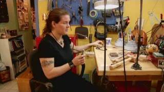 How To Cut Designs In Metal   Jewelry Making