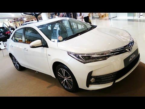 พาชม 2017 Toyota Corolla Altis Minorchange 1.8V Navi ภายนอก ภายใน