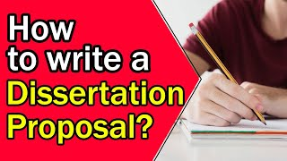 How to Write a Dissertation Proposal | 8 Best Tips for writing a Proposal
