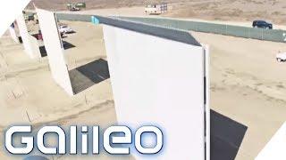 So sieht die Mauer zwischen Mexiko und den USA aus   Galileo   ProSieben