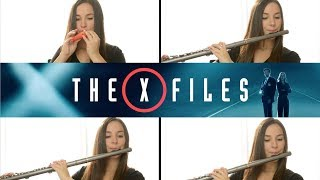The X-Files Theme on Flute + Sheet Music!