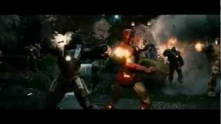 Iron Man MV Fire In Your Eyes - Chase and Status