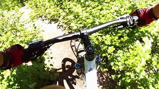 Took my daughter for her first MTB ride, pretty slow ride and lots of stops. Also still working on camera position on the chest strap, NEEDS WORK. Well you can watch and get a little idea of what to expect.