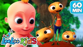The Ants Go Marching - The BEST SONGS for Kids | LooLoo Kids