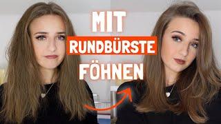 HAARE MIT RUNDBÜRSTE FÖHNEN / FÜR ANFÄNGER von einem Friseur / Sabrina Schuster