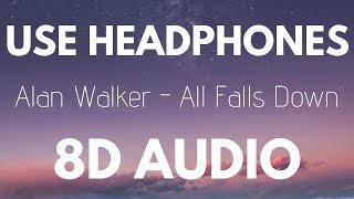 Alan Walker - All Falls Down (8D AUDIO) (Feat. Noah Cyrus & Digital Farm Animals)