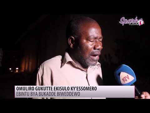 Omuliro gukutte ekisulo ky'essomero lya St. Augustine college e Kayunga mu Wakiso