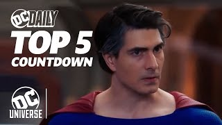 Crisis on Infinite Earths Crossover + New Episodes of Supergirl and Watchmen! | TOP 5 HEADLINES