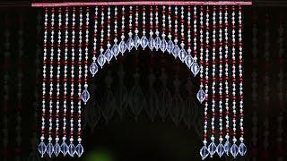 Amazing Pearl Toran Design || DIY handmade Door Hanging Toran Idea || Toran Making