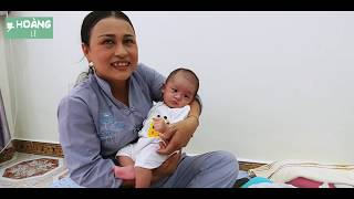 Bà bầu sinh con xong rồi biệt tăm, chị Phương tốt bụng đem về chăm lo (phần 2) | Hoàng Lê