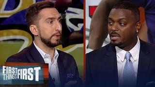 Lamar Jackson has edge vs 49ers, Texans can beat Pats — Plaxico Burress | NFL | FIRST THINGS FIRST