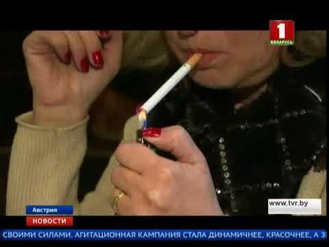 Австрия отказалась от запрета на курение в общественных местах