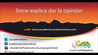 Cómo dar tu opinión en español
