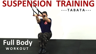 Full Body Suspension Training | TABATA Workout by Coach Ali