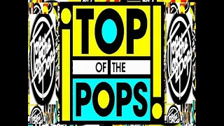 Top Of the Pops 1983,,,,,, Presenters Simon Bates & Mike Reid.  Howard Jones Hot Chocolate Toyah.