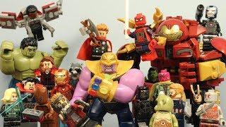 LEGO Cyclops   Avengers Infinity War   Stop Motion