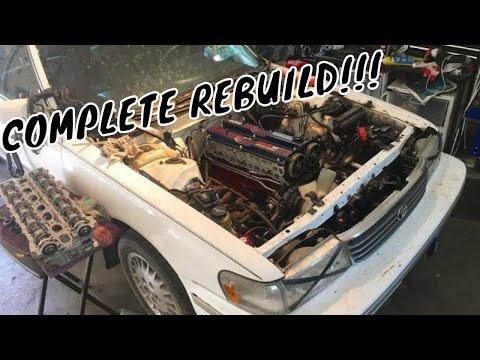 Фото к видео: 7M-GE Full Engine Rebuild/Overhaul 1992 Toyota Cressida