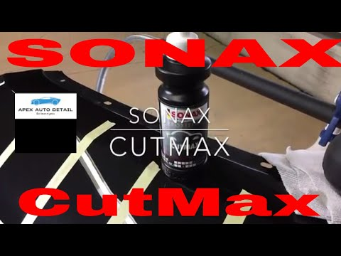 Sonax CutMax Cutting Compound!!!   250 ml $ 17.99!!  An aggressive compound for serious blemishes!!!