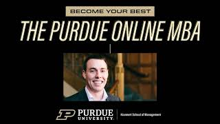 Online MBA | World Leader In Business Education | Purdue University